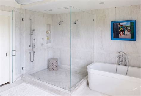 simple design frameless glass shower stalls home interiors stylish designs and options for shower enclosures