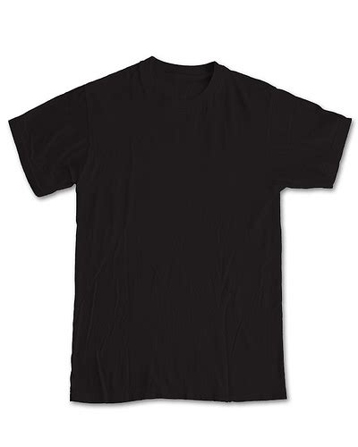 Blank Black Tshirt Template Clipart Best Black Blank T Shirt Template