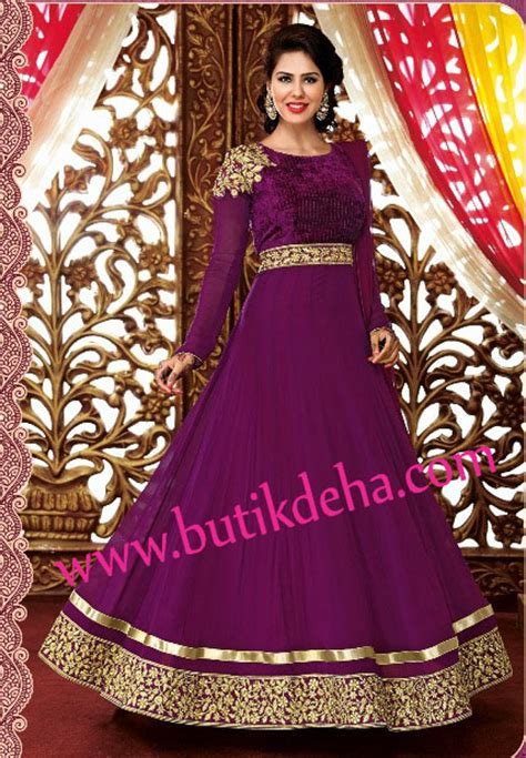 Anarkali Wedding Dressbaju Indiabaju Muslim Model Baju Muslim India Hairstylegalleries