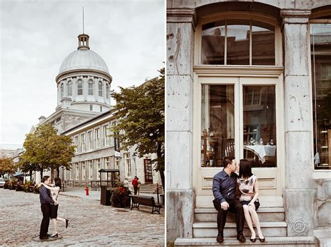 Old Montreal Pre Wedding Photography   Rowell Photography