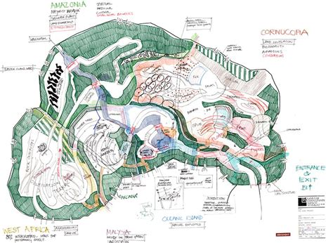 Kitchen Design Sketch the eden project dominic cole landscape architects