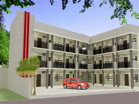 contoh gambar desain rumah kost minimalis sederhana desain rumah desain rumah