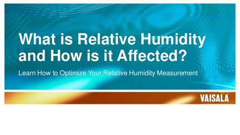 what is comfortable humidity what is relative humidity and how is it affected
