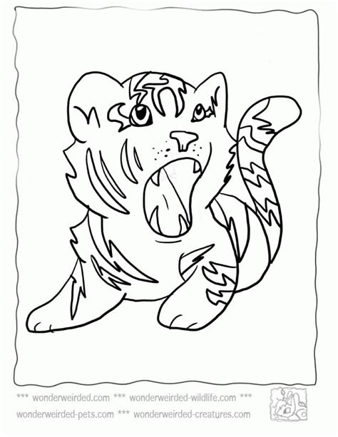 cute coloring pages of tigers cute tiger coloring pages for kids