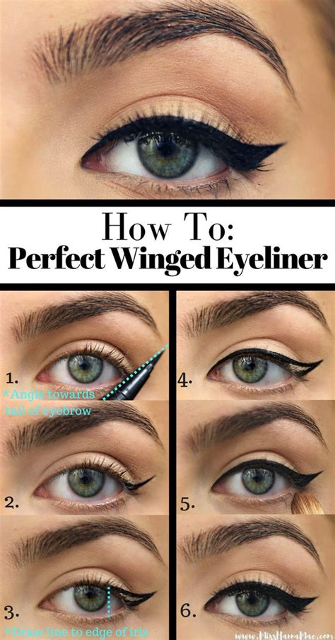 perfect winged eyeliner tutorial liquid 25 best ideas about eyeliner on pinterest