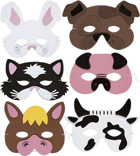 printable nativity animal masks farm animals mask animal masks masking and nativity