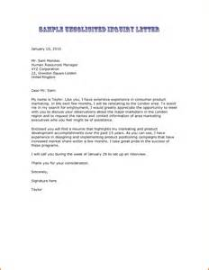 Business Letter Template Enquiry 6 Enquiry Letter Sample Executive Resume Template