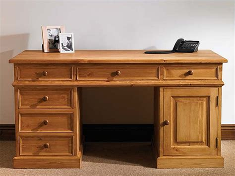 Devon Pine Computer Desk Study Table Home Office Furniture Pine Computer Desks