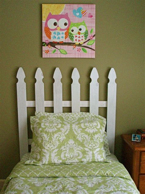 Picket Fence Headboard 11 Easy Diy Headboards For 50