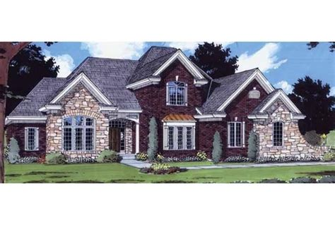 eplans french country house plan splendid stone exterior house exterior brick and stone photo gallery
