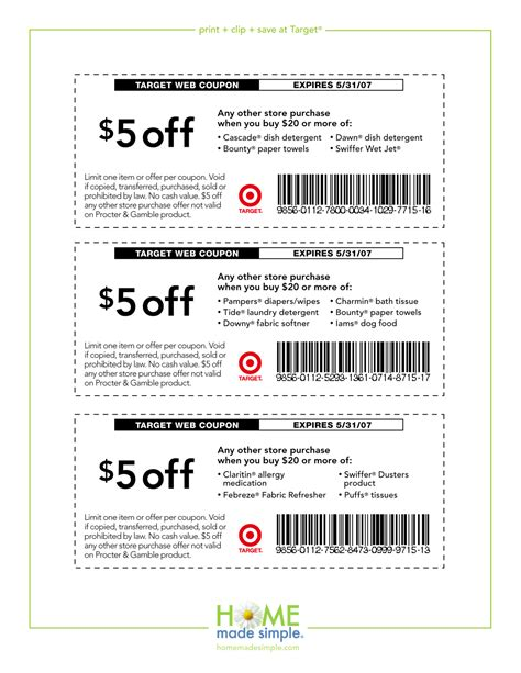 printable targets coupons target coupons july coupon codes blog