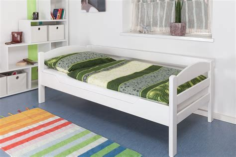 Comforta Solid Spine 100 X 200 Mattress Only single bed quot easy furniture quot k1 n s solid beech wood white finish 90 x 200 cm