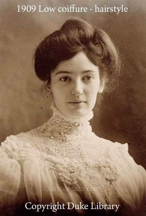 hair styles of the 1900 s 7 best fashion 1900 1909 hairstyles images on pinterest