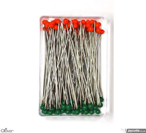 Clover Quilting Pins by Clover 2508 Quilting Pins Pack Of 100 Jaycotts Co Uk