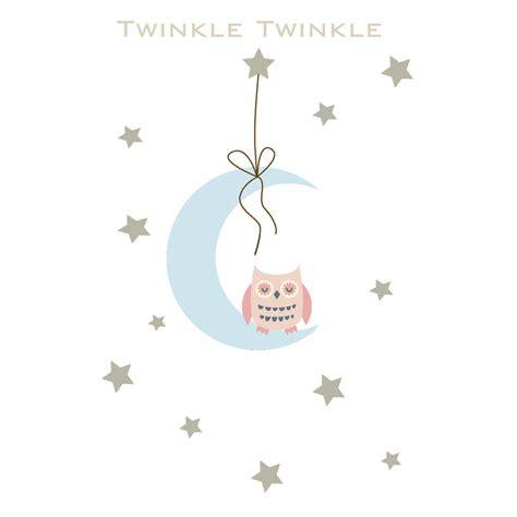 twinkle twinkle wall stickers twinkle twinkle wall stickers littleprints