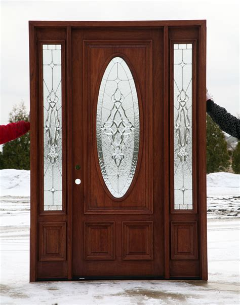 Oval Glass Doors Front Doors With Oval Glass