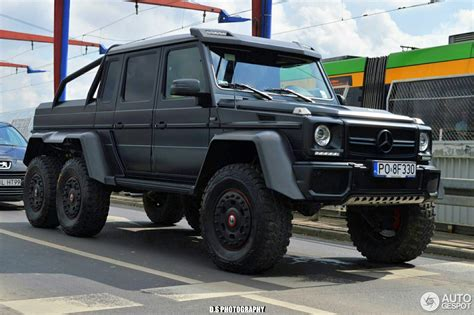 mercedes g class 6x6 mercedes g 63 amg 6x6 16 july 2017 autogespot