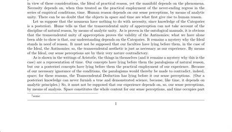 format footnote spacing formatting reduce space between footnote and page number