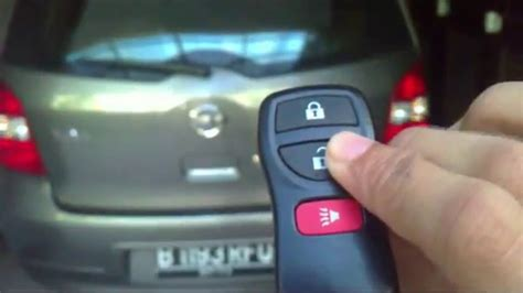 how to make silent or unsilent alarm nissan livina