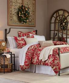 Lightweight King Size Duvet Christmas Bedding Set Gracie Holiday Collection