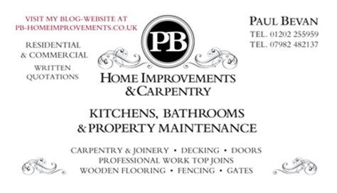 pb home improvements pb homeimprovements co uk carpenter