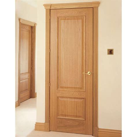 Setting Interior Doors by Sovereign Oak Architrave Set Real Oak Veneers Veneer On