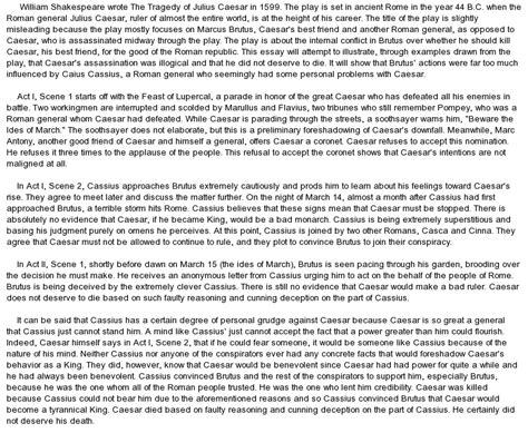 theme essay julius caesar the tragedy of julius caesar book overview at essaypedia com