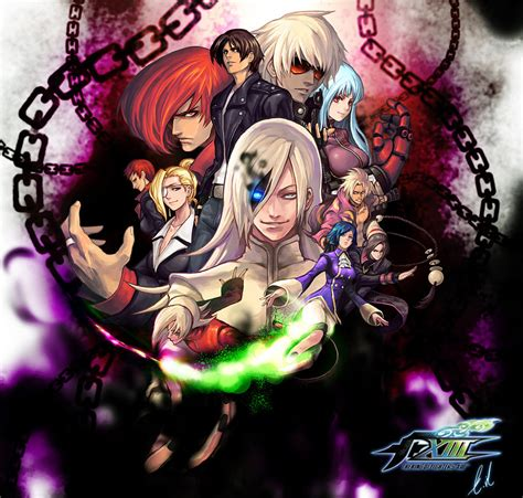 imagenes chidas the king of fighters the king of fighters xiii by evilgun on deviantart