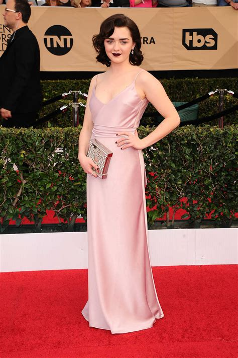 Screen Actors Guild Awards Williams by Maisie Williams Celebsla