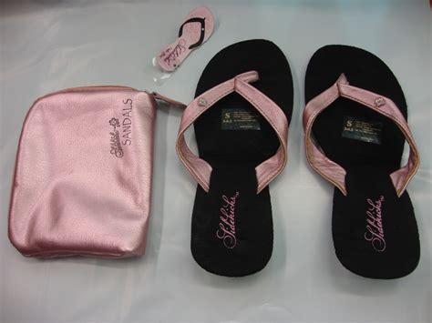foldable sandals sidekick foldable flip flops sandals in pink grey or gold