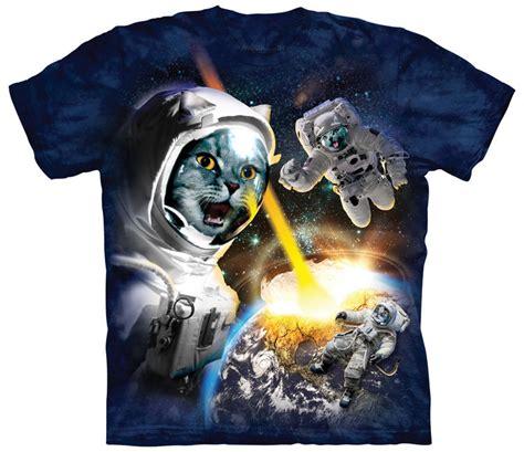 Tshirt Astronaut Cat cataclysm space astronaut cat shirt made of usa cotton