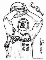 NBA coloring page