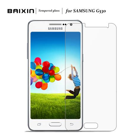 Samsung Galaxy Grand Prime G530 G530h Glow In The baixin screen protector for samsung galaxy grand prime g530 g530h tempered glass for g530 w g530