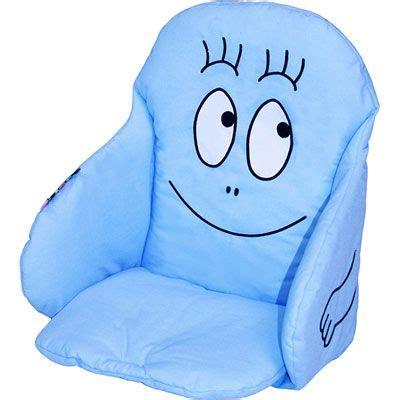 Chaise Barbapapa by Babycalin Coussin De Chaise Tissu Barbapapa Bleu