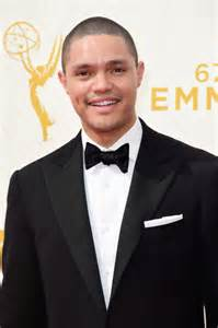 Trevor noah attends the 67th emmy awards at microsoft theater on