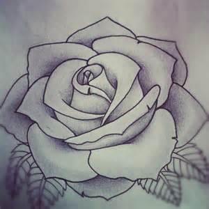 Rose tattoo design by alyx wilson society6
