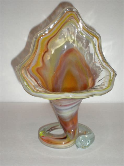 vintage murano venetian glass vase ebay