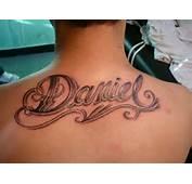 Lorien Tattoo Tatuaje Nombre Daniel