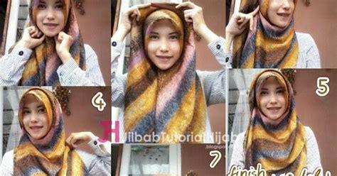 tutorial hijab segitiga 2 warna tutorial cara memakai hijab warna warni jilbab tutorial
