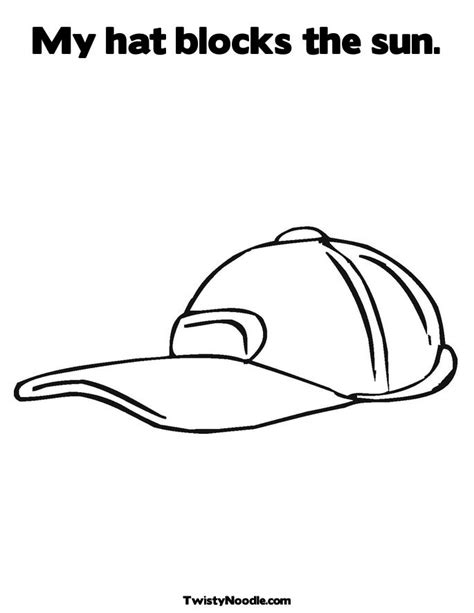 beach hat coloring page girls floppy hat coloring pages