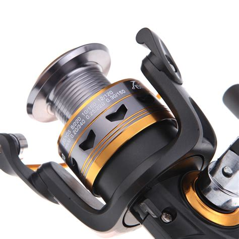 Reel Pancing Next Flash 3000 Black Aluminium Spool 5 Bearing 11bb bearings left right interchangeable collapsible handle fishing spinning reel dk3000 5