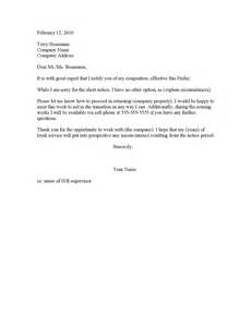Resignation letter 2 week notice resignation letters two weeks
