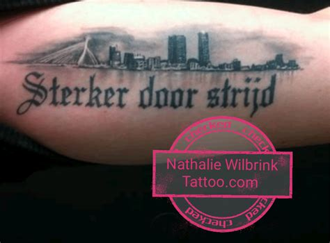 watercolor tattoo rotterdam pics