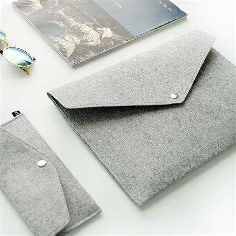 Rhimax Durable Felt Paper by A4 Document Bag Chemical Felt File Folder Durable