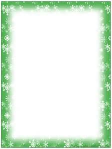 Free printable christmas snowflake stationery