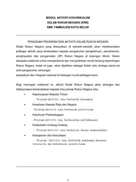 modul menyusun laporan keuangan untuk smk modul aktiviti kelab rukun negara