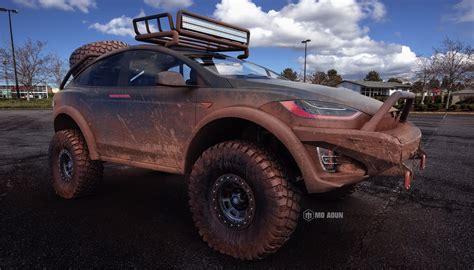 Tesla Model X Off Roader Looks Dakar Ready Carscoops Com