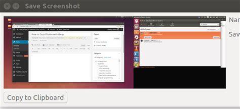 screen layout editor ubuntu how to take screen shots and edit them with gimp on ubuntu