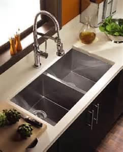contemporary kitchen sinks zero radius sink from houzer the contempo sink series