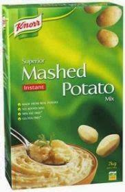 Tepung Kentang Knor Mashed Potato Flake Bahan Donat Kue Kroket Lembut tepung serpihan kentang lebih praktis efisien dan
